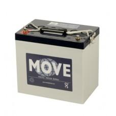 Move Gel accu 12 volt 78 ah