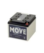 Move Gel accu's
