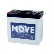 Move Gel accu 12 volt 52 ah